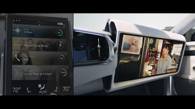 Inovațiile software dezvoltate de Ericsson îmbunătățesc experiența mașinilor autonome Volvo