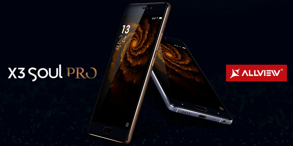 Allview lansează X3 Soul PRO la Mobile World Congress –  Rafinament pe culmile performanței