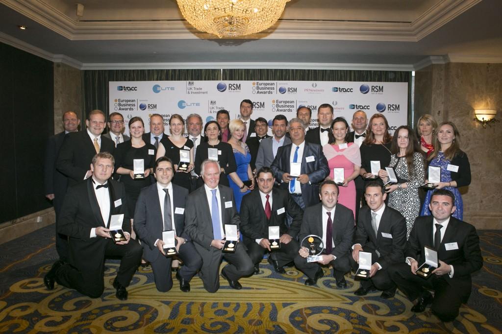 România în competiția European Business Awards