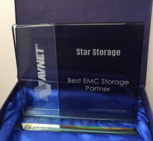 Star Storage primește premiul pentru Best EMC Storage Partner