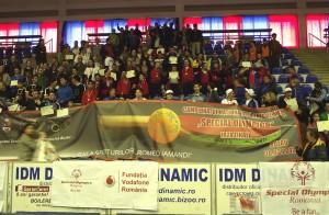 """Sportivii cu dizabilităţi intelectuale participă la cea de-a cincea ediţie a Campionatului naţional de tenis de masă """"Special Olympics"""""""