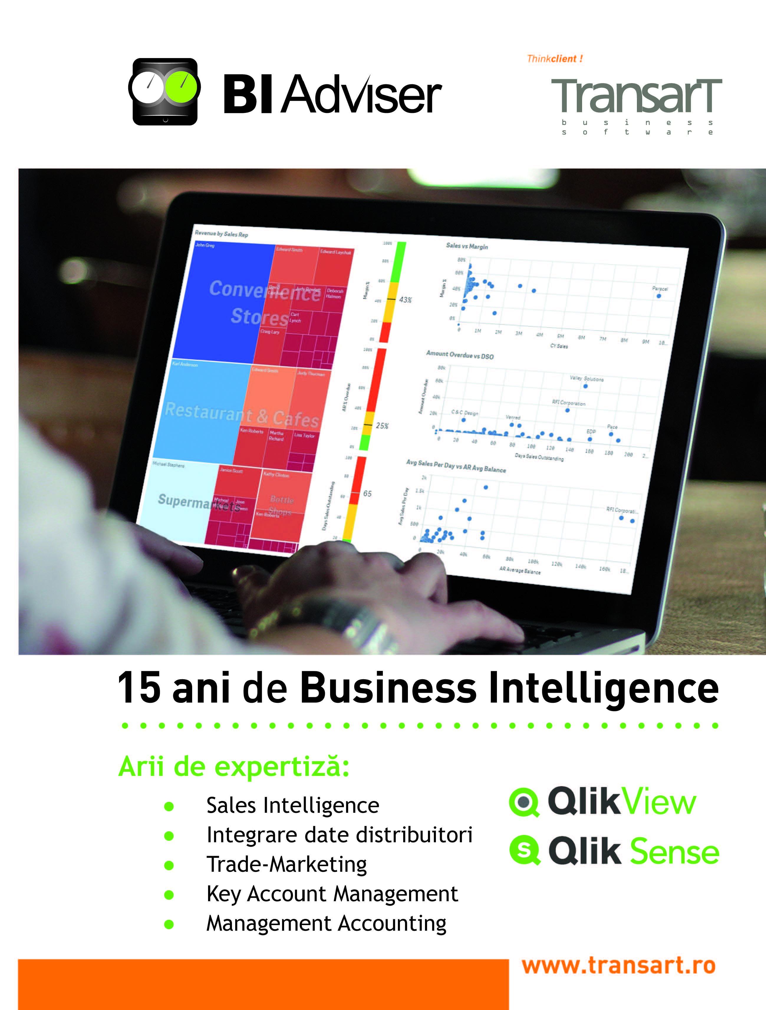 BUSINESS INTELLIGENCE – Suport vizual intuitiv pentru deciziile de afaceri